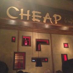 Photo taken at Cheap by Jerri S. on 4/15/2013