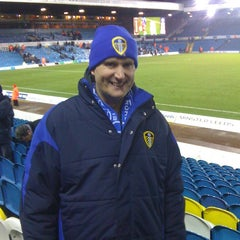 Photo taken at Elland Road Stadium by Hannah W. on 4/19/2013