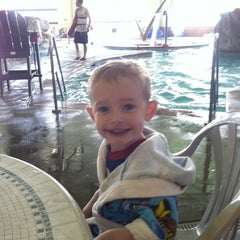 Photo taken at Castle Rock Community Recreation Center Leisure Pool by Rachel W. on 4/27/2013