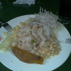 Photo taken at Cevicheria Picanteria El Paisa by Miguel M. on 10/7/2012