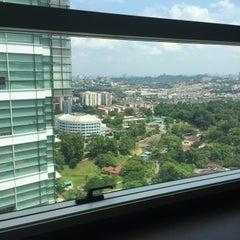Photo taken at Menara Suruhanjaya Syarikat Malaysia (SSM) by Dd H. on 7/29/2015