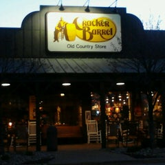 Photo taken at Cracker Barrel Old Country Store by Katie C. on 4/27/2013