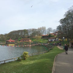 Photo taken at Peasholm Park by Tiny M. on 5/4/2015