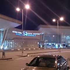 Photo taken at Sofia International Airport (SOF) by Todor K. on 5/26/2013