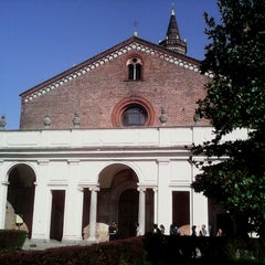 Photo taken at Abbazia di Chiaravalle by Aira on 7/25/2013