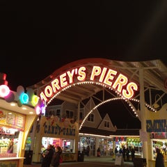 Photo taken at Morey's Piers and Beachfront Waterparks by Matt U. on 5/4/2013
