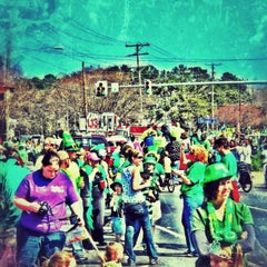 Photo taken at Ocean View St. Patrick's Day Parade by Drew on 10/25/2012