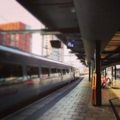 Photo taken at Platform 8 by Chris B. on 3/13/2014