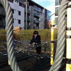 Photo taken at Tanner Street Playground by Deniz L. on 4/17/2013