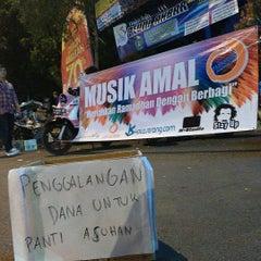 Photo taken at Alun-Alun Kota Serang by Kota S. on 7/10/2015