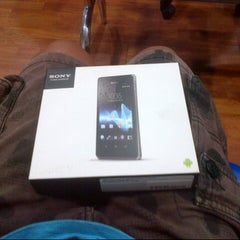 Photo taken at Cellular World by Ade C. on 3/28/2014