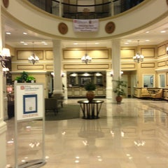 Photo taken at King Edward Hotel (Hilton Garden Inn Jackson) by Jim C. on 3/3/2013