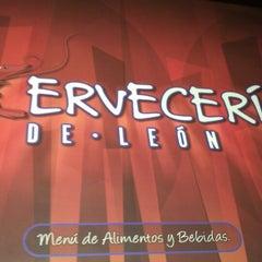 Photo taken at La Cervecería de León by Cecy H. on 4/27/2013