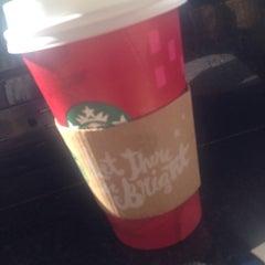 Photo taken at Starbucks by Sarah S. on 12/23/2014