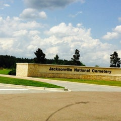 Photo taken at Jacksonville National Cemetery by Melissa Y. on 7/22/2014