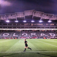 Photo taken at Dick's Sporting Goods Park by Jacob E. on 9/20/2012