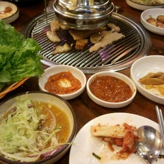 Photo taken at Korean Restaurant by Bangla B. on 1/22/2013