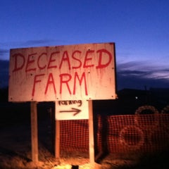 Photo taken at Deceased Farm by K H. on 10/6/2013