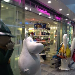 Photo taken at Moomin Shop by Claire K. on 9/23/2014