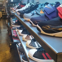 Photo taken at Burn Rubber Sneaker Boutique by Eric G. on 1/3/2015