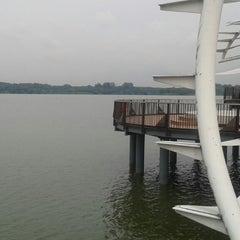 Photo taken at Lower Seletar Reservoir Park by junjie' on 4/26/2013