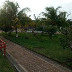Photo taken at Resort Las Hojas El Salvador by Williams F. on 5/3/2014