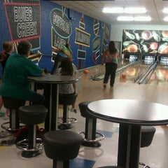 Photo taken at Buffaloe Lanes Erwin Bowling Center by Katlyn M. on 4/21/2013