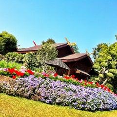Photo taken at พระตำหนักดอยตุง (Doi Tung Royal Villa) by Pacharapun T. on 1/20/2013