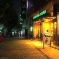 Photo taken at Starbucks Coffee 茅場町店 by Akihito on 8/8/2013