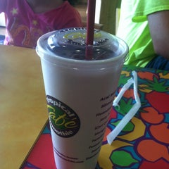 Photo taken at Tropical Smoothie Cafe by Victoria M. on 6/18/2013