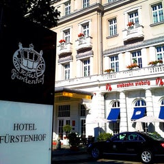 Photo taken at Hotel Fürstenhof by Christian K. on 9/16/2012