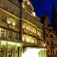 Photo taken at Hotel Fürstenhof by Christian K. on 12/29/2012