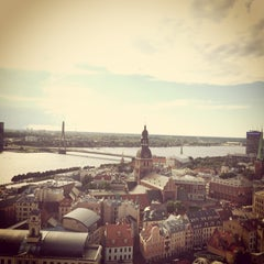Photo taken at Vecrīga | Старая Рига | Riga Old town by Dmitry O. on 6/13/2014