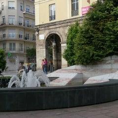 Photo taken at Plaza Mayor by Pablo T. on 5/15/2013