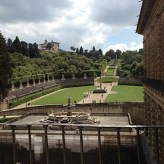 Photo taken at Palazzo Pitti by Cesc Y. on 5/11/2013