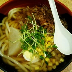 Photo taken at Akamaru Udon Factory 赤丸製麵所 by Phoebe T. on 8/14/2013