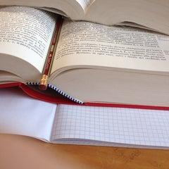 Photo taken at Biblioteca di Scienze Sociali by Valeria G. on 3/20/2014