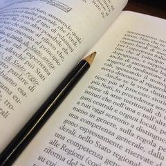Photo taken at Biblioteca di Scienze Sociali by Valeria G. on 11/26/2013