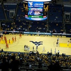 Photo taken at WVU Coliseum by Josh G. on 12/8/2012