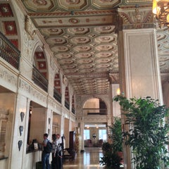 Photo taken at The Brown Hotel by Lena G. on 5/1/2013