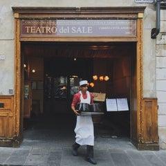 Photo taken at Il Teatro del Sale by Antonio F. on 1/9/2015