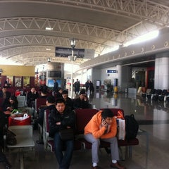 Photo taken at Ningbo Lishe International Airport (NGB) 宁波栎社国际机场 by Mothilal D. on 12/4/2012