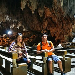 Photo taken at Callao Cave by Diego Jose R. on 2/17/2015