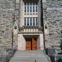 Photo taken at Robeson Hall by Chris on 4/25/2013
