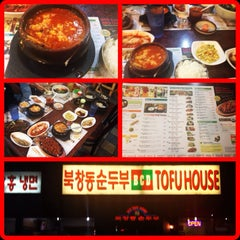 Photo taken at BCD Tofu House by Deji S. on 6/26/2013
