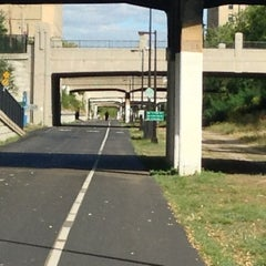 Photo taken at The Midtown Greenway by Santa E. on 9/12/2013