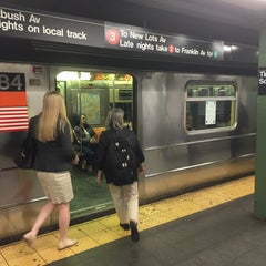 Photo taken at MTA Subway - 42nd Street Shuttle (S) by Michael F. on 4/15/2015