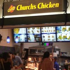 Photo taken at Churchs Chicken by Palestina C. on 9/10/2013