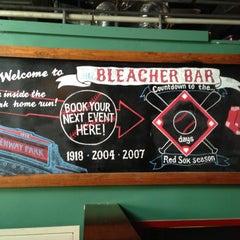 Photo taken at Bleacher Bar by Abdiel S. on 6/12/2013