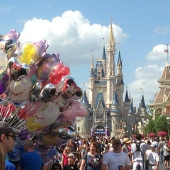 Photo taken at Main Street, U.S.A. by Gehrig K. on 4/27/2013